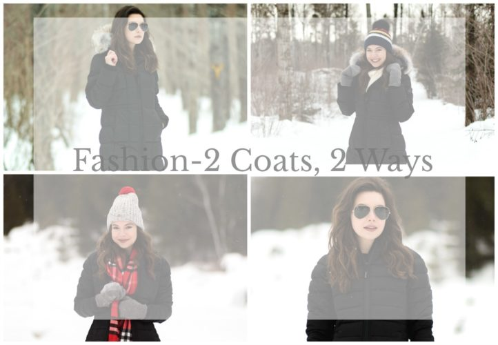 Fashion – Two Coats, Two Ways- Styling Your Outerwear