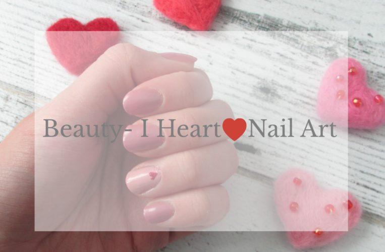 Beauty- I Heart Nail Art- Vday Nails