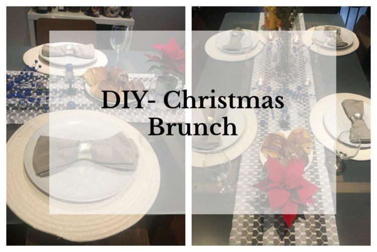 DIY- Christmas Brunch- Table Decor