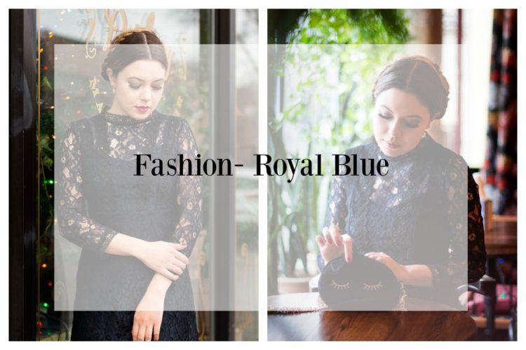 Fashion- Royal Blue- Holiday Attire