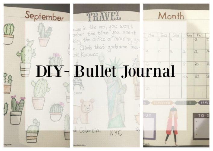 DIY-Bullet Journal- New Year, New Goals