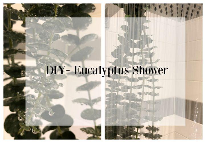 DIY- Eucalyptus Shower- At Home Spa